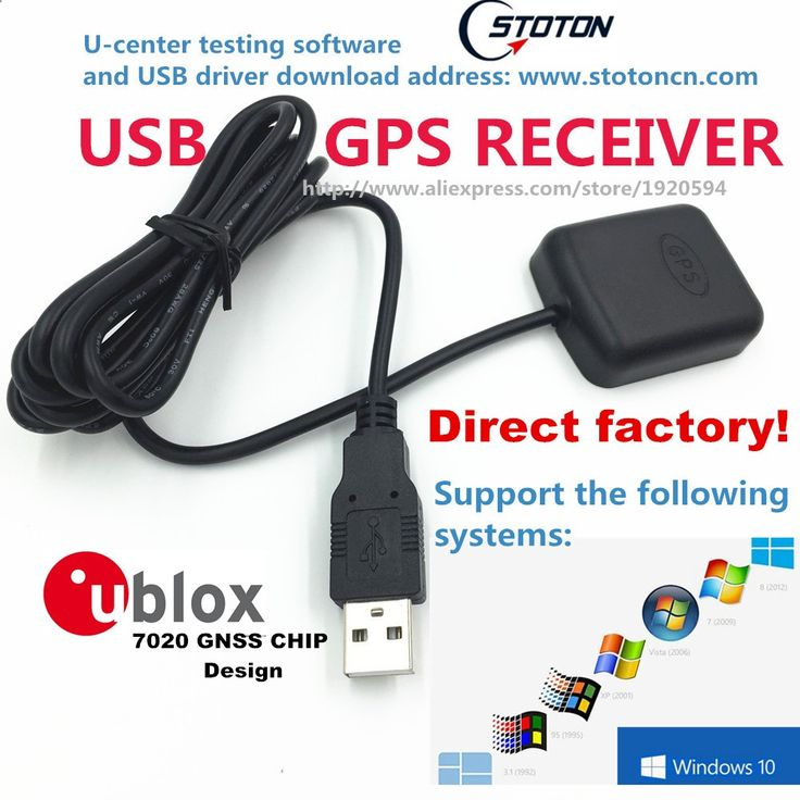 $9.66 (Buy here: alitems.com/... ) Free Shipping PC Navigation USB drive GPS Receiver Module Antenna GMOUSE 0183 NMEA Output USB Replace VK-162 GlobalSat BU-353s4 for just $9.66
