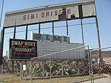SIMI VALLEY DRIVE-IN    Simi Valley, California. Closed down in the 1980's. So sad...no more drive-in, no more swap meet.