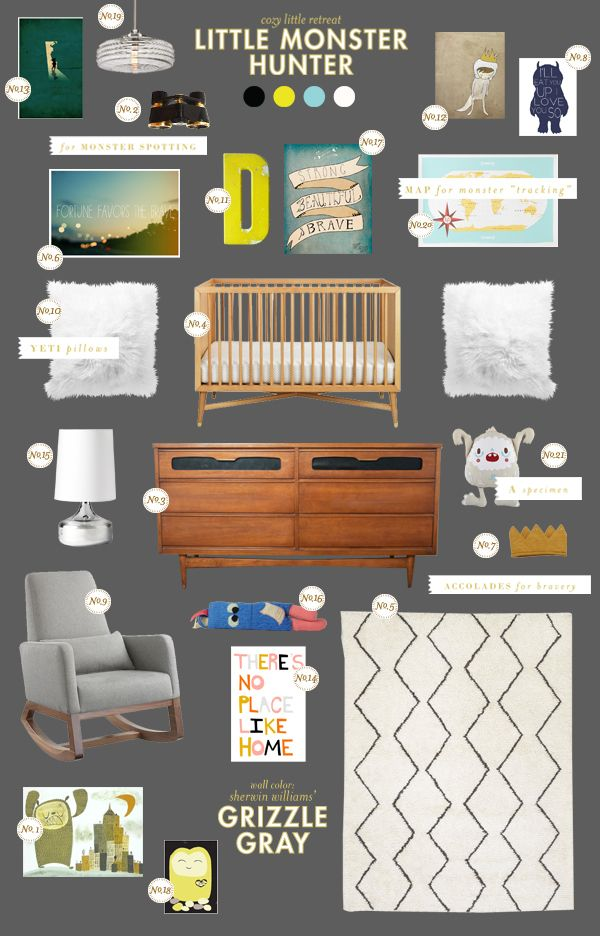 Where the Wild Things Are inspired board from Lay Baby Lay