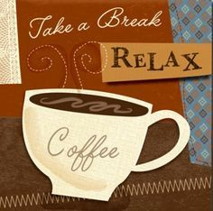 Pausa caffè per iniziare la giornata / Coffee break to start your day