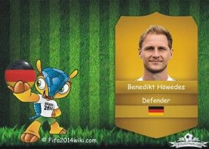 Benedikt Höwedes - Germany Player - FIFA 2014