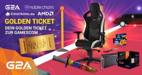 Gamescom Golden Ticket / NobleChair / AMD RX480 - Giveaway {WW}... sweepstakes IFTTT reddit giveaways freebies contests
