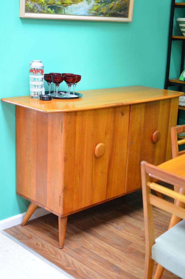 vintage fred ward sideboard buffet