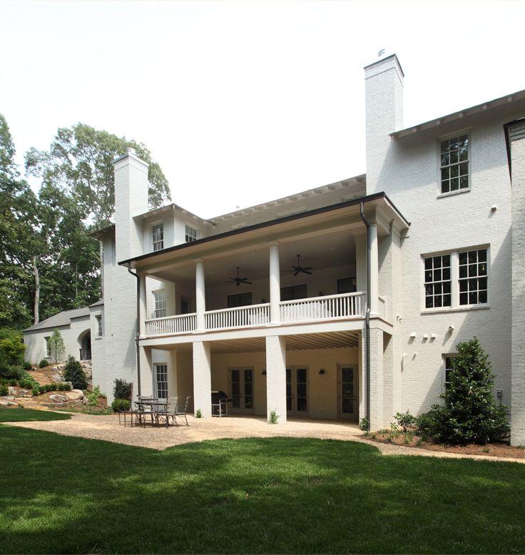 Back side is a beauty too. Hedgewood custom home.