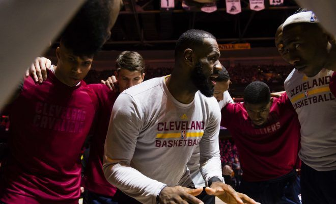 """LeBron James on Kevin Love Injury – """"Don't Worry, I Got This"""""""
