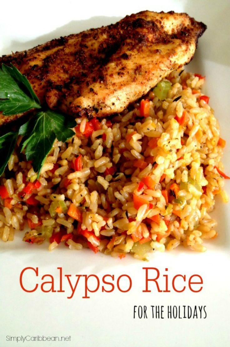 Caribbean Calypso Rice for the Holidays