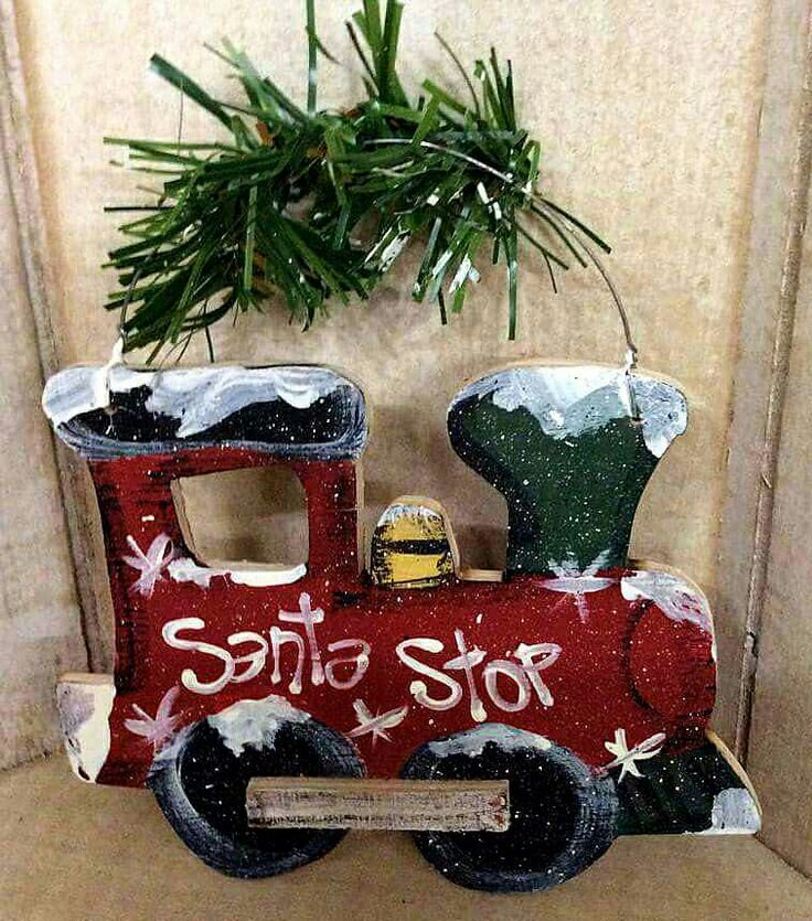 handpainted wooden christmas lawn ornaments fun ideas