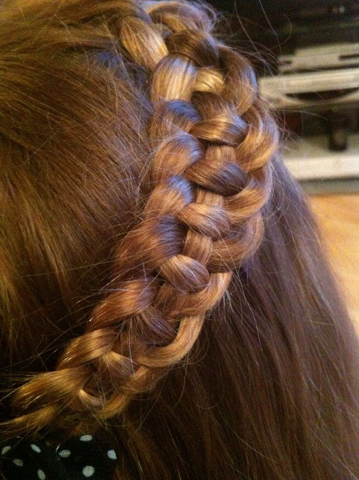 Graceful Hair Makeover How To Get The Celtic Knot Braids