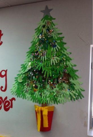 Kirsty's Blog: Handprint Christmas Tree