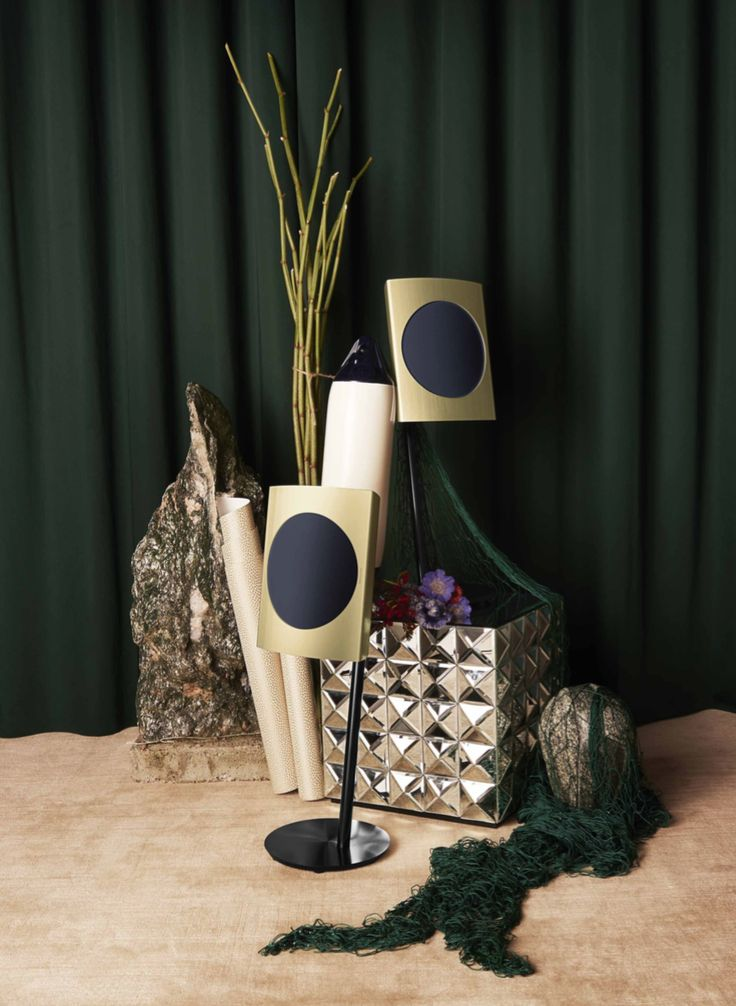 BeoLab 17 dressed in Brass for the Cool Modern Collection!