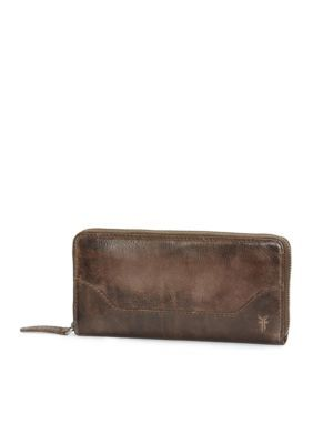 Frye Women's Melissa Zip Wallet - Slate - One Size