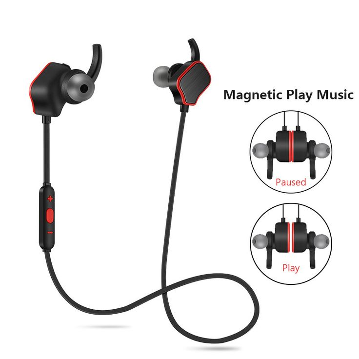 Magnetic Switch Handsfree Stereo Sport Headset Wireless Bluetooth Earphone Headphone for Sony Xperia Tablet Z Tablet