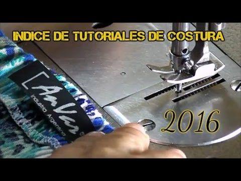 AnVar - Te enseño a coser: TUTORIALES DE COSTURA 2016