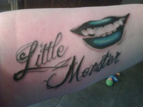 """Lady Gaga loves her little monsters, and some of them are showing the love back with their own """"Little Monsters"""" tattoos.  Check some of them out here: http://www.popstartats.com/lady-gaga-tattoos: Tattoo Ideas, Fans Tattoo, Lady Gaga Tattoo, Monsters Tattoo, Gaga Fans, Body Art, Gaga D, Mothers Monsters, Little Monsters"""