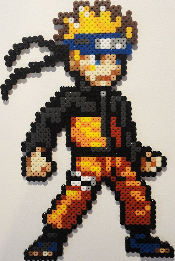Naruto Perler Bead Sprite by Jemzos on Etsy