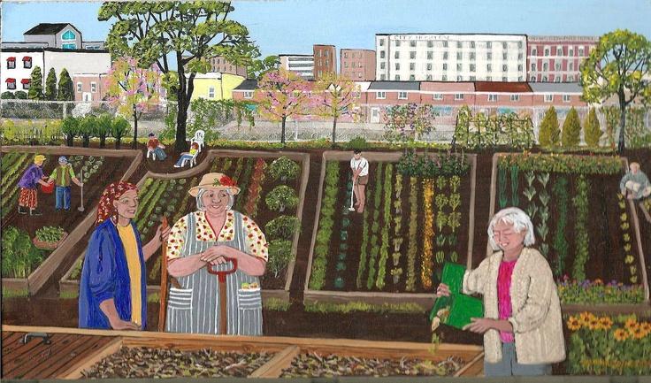 Garden Divas.  More community garden inspiration.