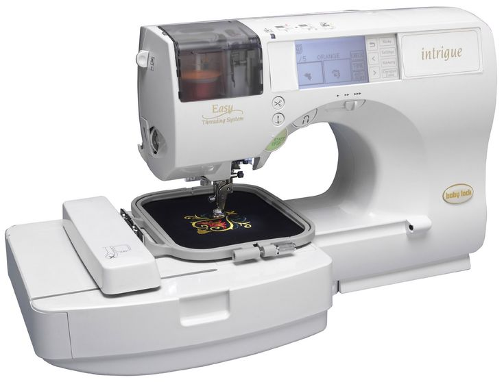 embroidery machines | Babylock Embroidery and Sewing Machine Intrigue INT