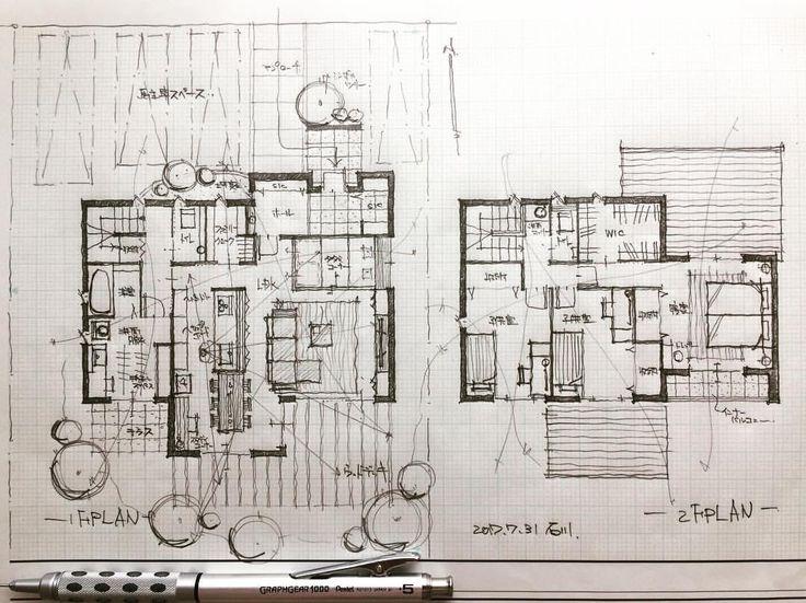 いいね!866件、コメント7件 ― 石川 元洋/一級建築士さん(@motohiro_ishikawa)のInstagramアカウント: 「・ 40坪4人家族の住まい ・ 北入りの敷地特性を活かし居住空間プラスサニタリースペースにも陽当たりを確保。 ・…」