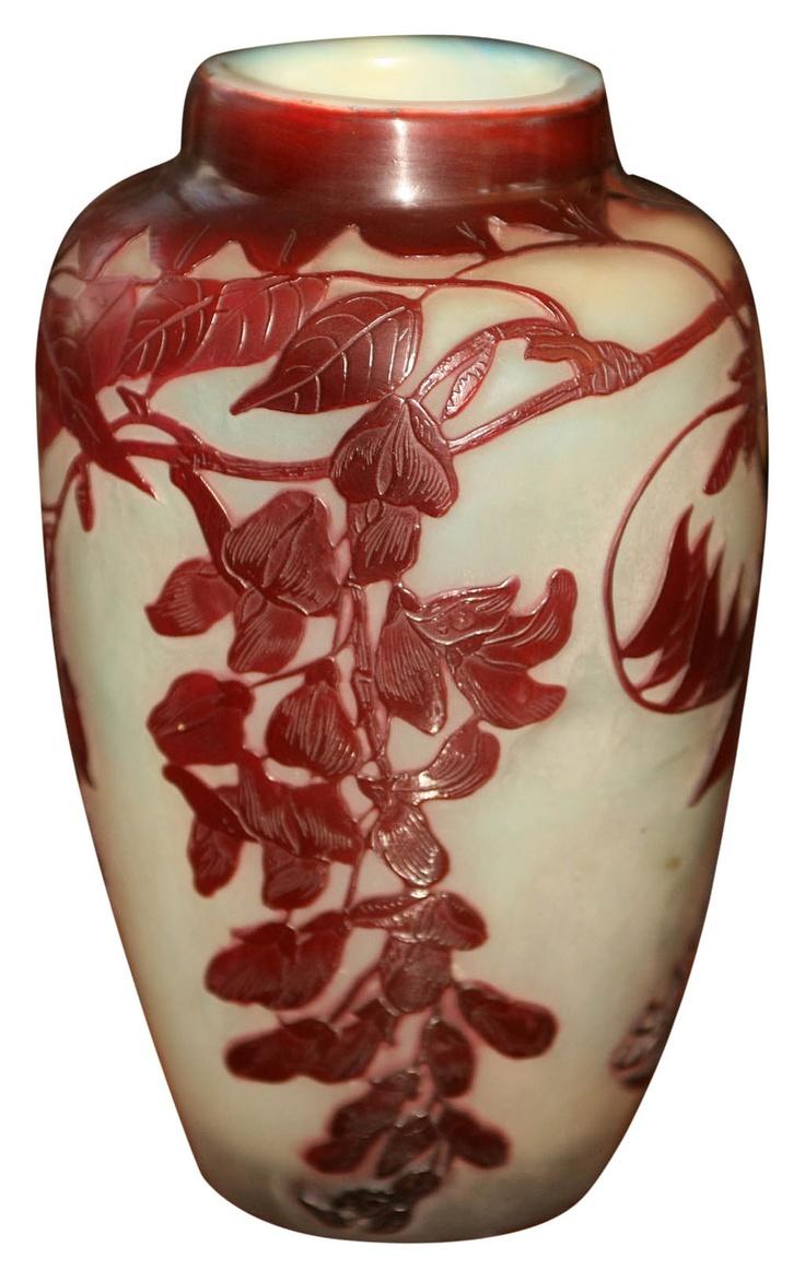 Émile Gallé: Vase 🐾Emile Gallé🐾🐾More Pins Like This At FOSTERGINGER @ Pinterest 🐾🐾🐾