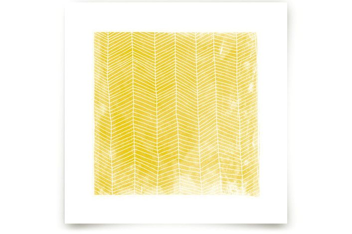 Abstract Herringbone Art Prints by Paper Dahlia at minted.com