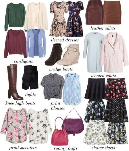 basics of Lydia martin wardrobe