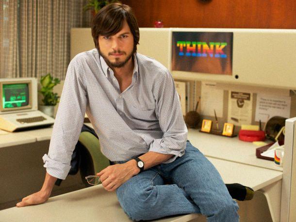 """Here is the first full trailer for Ashton Kutcher's Steve Jobs film, """"Jobs"""" http://cnet.co/19nODFN"""
