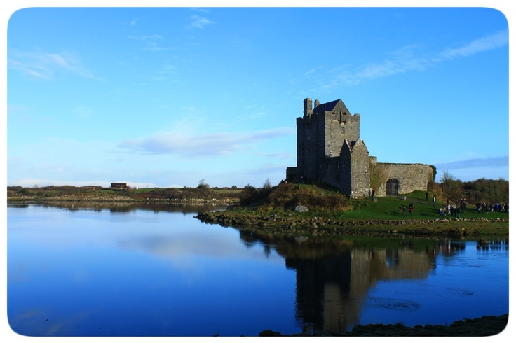 Dunguaire Castle on Kinvara Bay in County Galway    Photo taken by CEA MOJO Anna Toman
