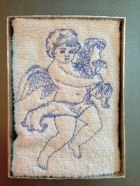 """Кърпа за кръщене """"Ангелче"""" изображения"""