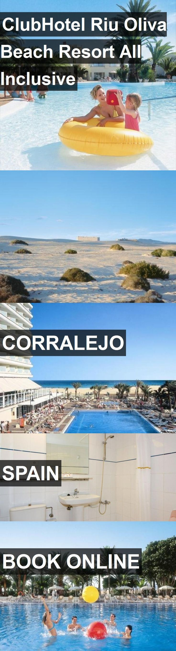 Hotel ClubHotel Riu Oliva Beach Resort All Inclusive in Corralejo, Spain. For more information, photos, reviews and best prices please follow the link. #Spain #Corralejo #hotel #travel #vacation