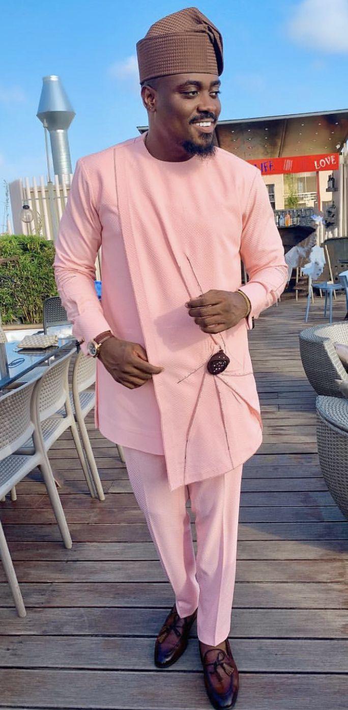Omoh African men shirt and matching pant  Men/'s clothing  Men/'s pant  Men/'s shirt  African clothing for men