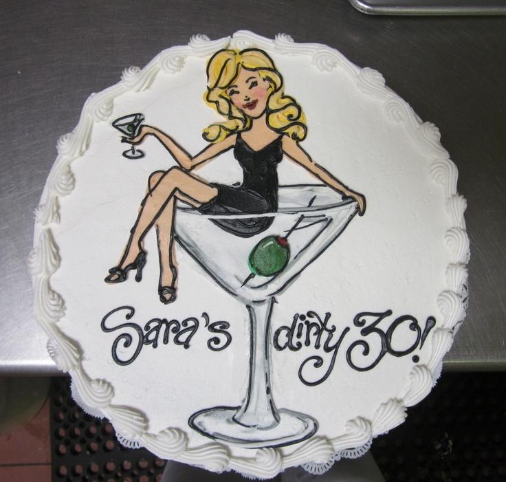 Girl-in-my-Martini birthday cake #icingonthecakelosgatos