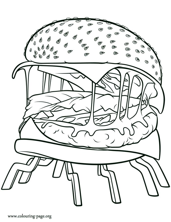 Chance Of Meatballs Cheespider Coloring Page Kids Coloring Books Coloring Pages For Kids Coloring Pages