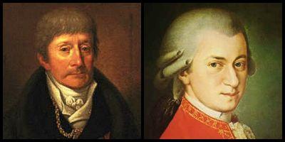 Antonio Salieri, Mozart,