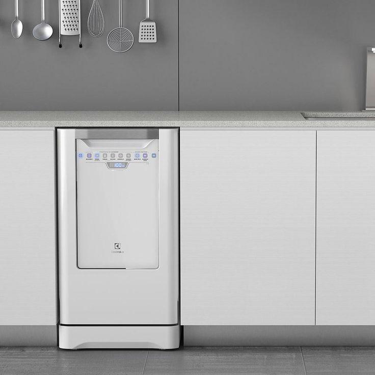 Lava-Loucas Electrolux LI10B 10 Serviços Branca -Eletrodomésticos - Lava-Louças - Walmart.com