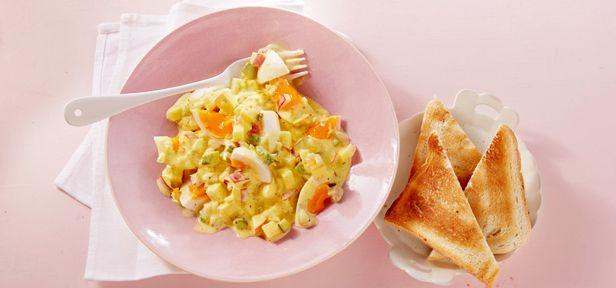 Eiersalat - von klassisch bis exotisch