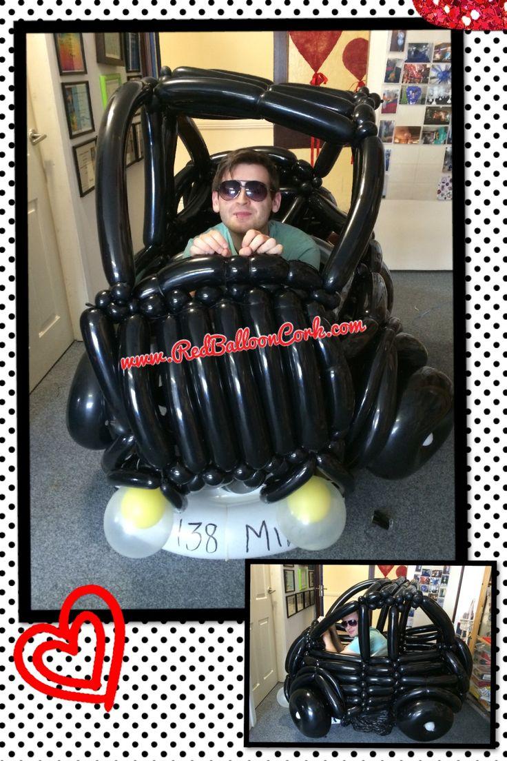 Custom, VW Beetle, Balloon, Beetle, Car, Twisting, Cork, Red Balloon,