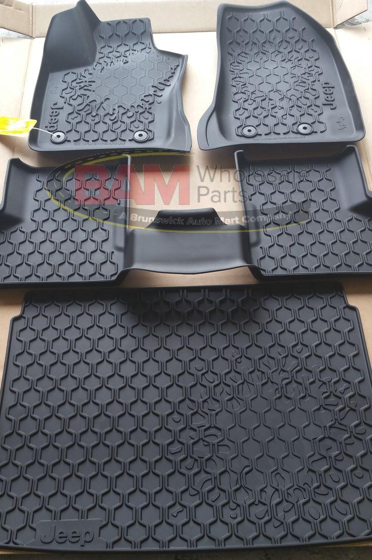 2015-2016 Jeep Renegade Slush Mat Rubber Cargo Tray OEM 82214194.82214195 Mopar