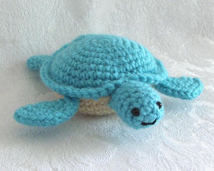 Crochet Sea Turtle Lil Sea Turtle