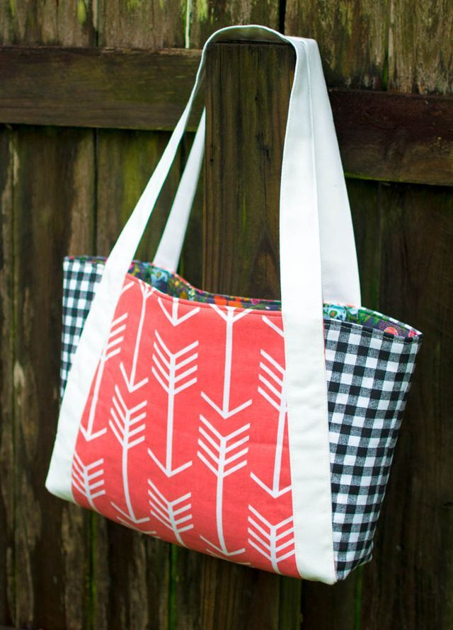 14 Free Tote Bag Patterns You Can Sew in a Day! (plus tips ...