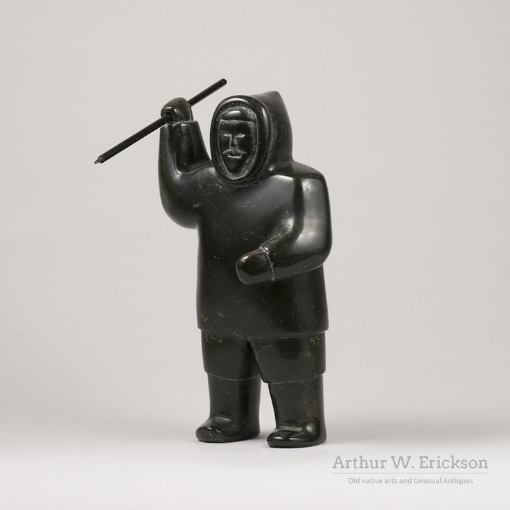 Inuit Eskimo Soapstone Carving Hunter Seal 1960: 1000+ Ideas About Inuit Art On Pinterest