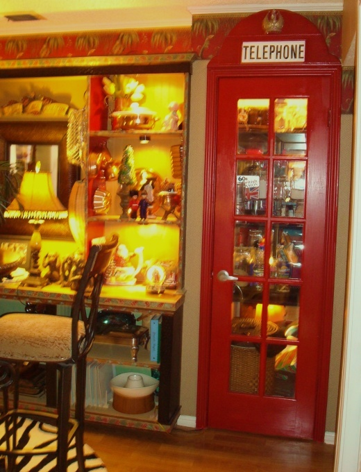 Phone Booth Pantry How Great Is This I Want A