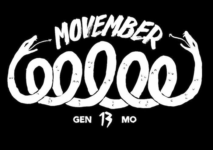 Movember : rejoignez-moi dans la lutte contre le cancer de la prostate en vous laissant pousser... la moustache en novembre!! (oui, ça marche aussi pour vous, mesdames).