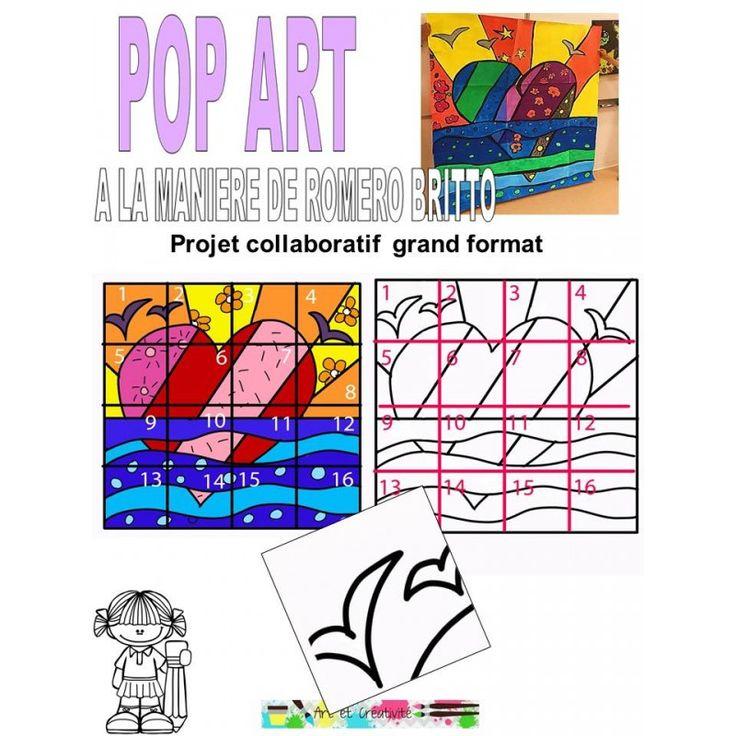POP ART - Peinture murale | Peinture murale, Pop art, Peinture