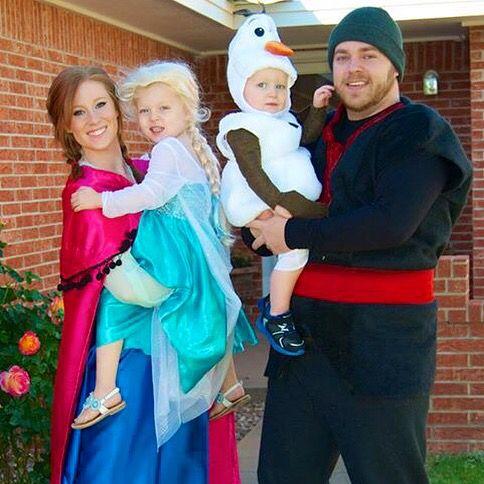 meet my family frozen costume