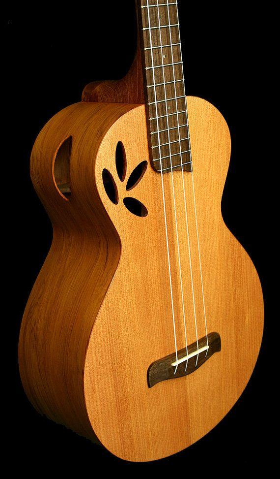 handmade cuatro baritone ukulele made by new zealand by nzbynature music ukulele ukulele. Black Bedroom Furniture Sets. Home Design Ideas