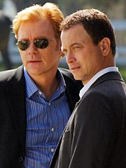 David Caruso & Gary Sinise.BOTH have awesome T.V. shows, and have been in some decent movies.   :.)