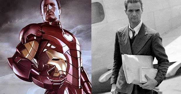 Iron Man - Real Life People That Inspired Superheroes Creations