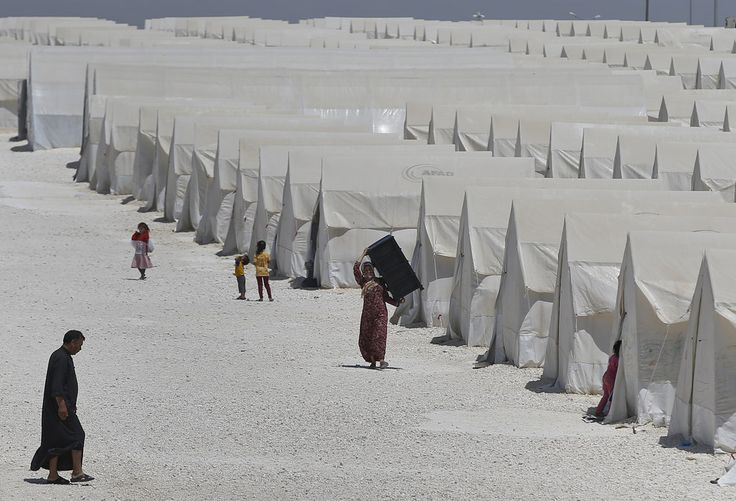 Syrian refugee camp in Turkey Emrah Gurel / AP