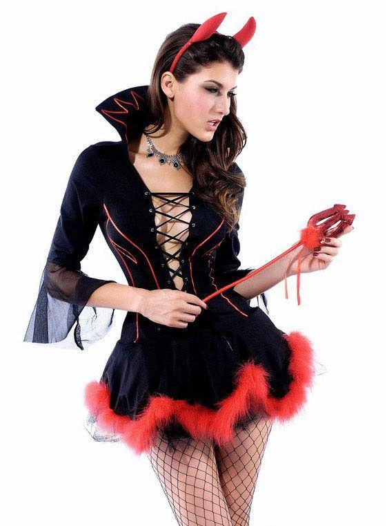 Plus Size Miss Iblis Devil Costume