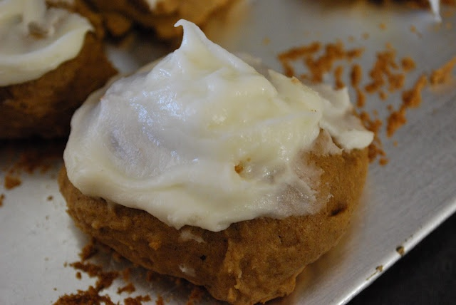 """""""Point-less"""" Meals: Iced Pumpkin Cookies.. best pumpkin cookie in the history of the world!"""